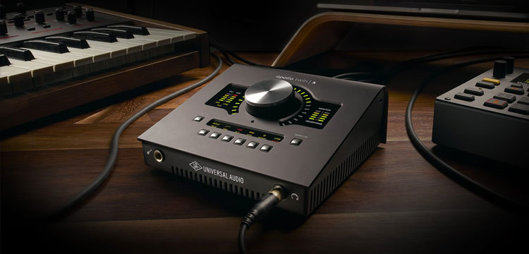 Universal Audio Apollo Twin X Duo en Quad Thundertbolt 3 audio interface