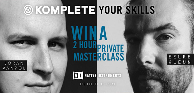 Native Instruments: Komplete Your Skills Promotion!