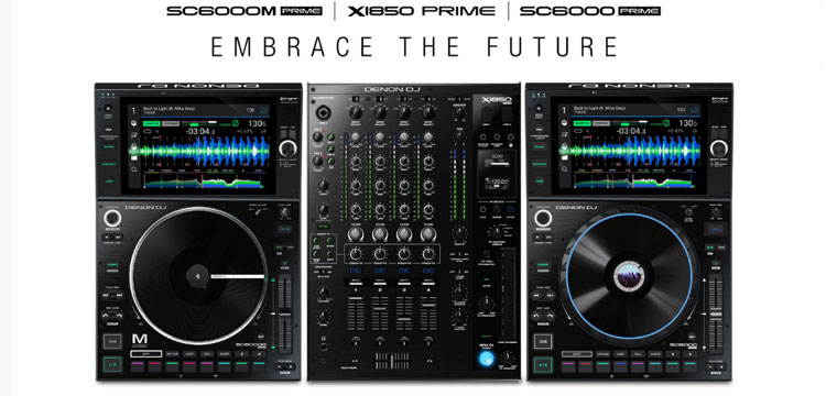 Denon DJ introduceert ultimate mainstage DJ gear: SC6000 - SC6000M - X1850