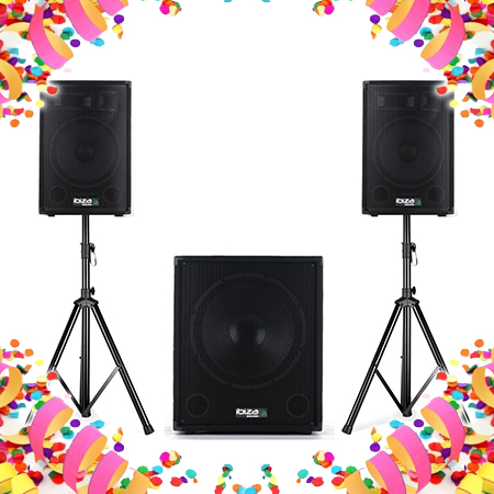 Speakers + Subwoofer sets