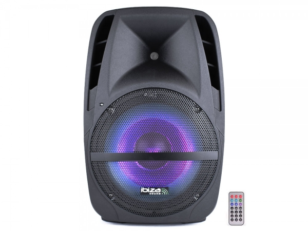 Ibiza Sound BTM15A-LED