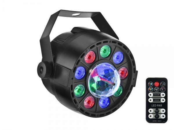 Ibiza Light PAR-ASTRO 2-in-1 RGBW LED par DMX