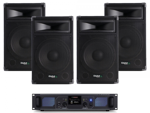 Carnaval Party Pack 6 Ibiza 2400W