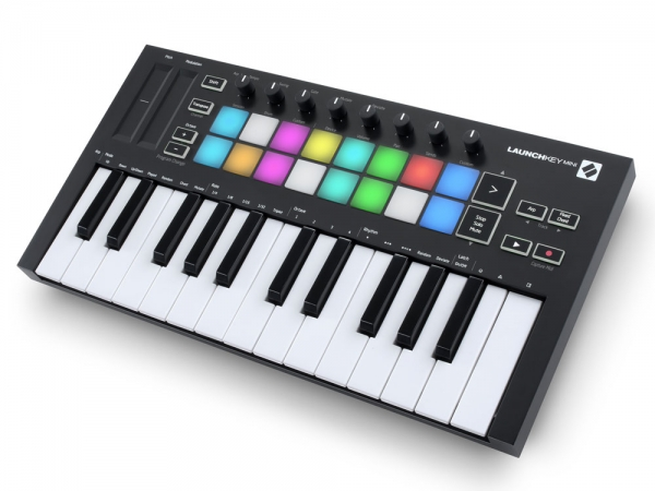 Novation Launchkey Mini MK3 MIDI Keyboard inclusief Ableton Live Lite