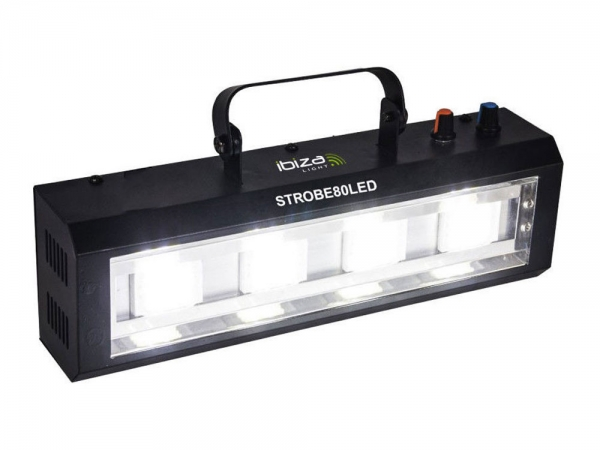 Ibiza Light STROBE80LED LED stroboscoop 4x 20W