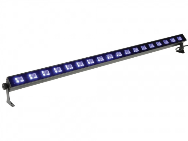 Qtx UVB-18 blacklight ultraviolet LED bar 18x 3W UV leds