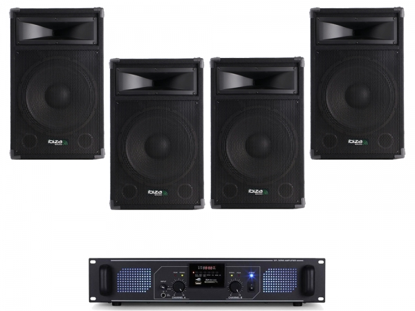 Carnaval Party Pack 8 Ibiza 1600W