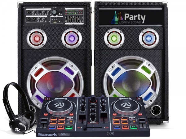 Numark Party Mix DJ controller set 3