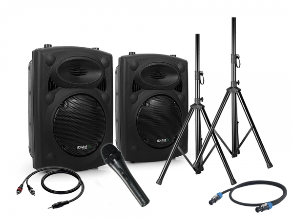 Ibiza Blue Rocker 8 speaker set