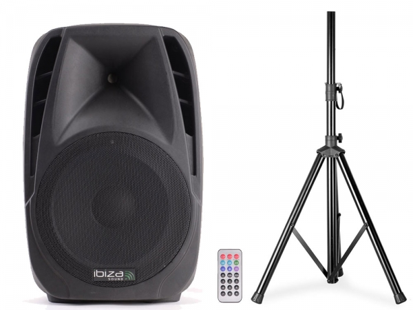 Ibiza Sound BT12A actieve bluetooth luidspreker box 900W
