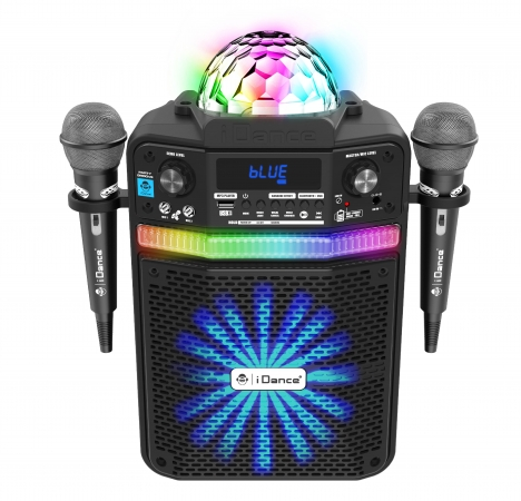 iDance Party Groove Karaoke party systeem met 2 microfoons