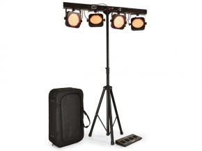 Qtx PB-1 LED par bar set incl. statief en draagtas