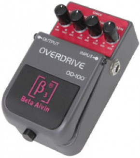 Chord OD-100 Overdrive Effect Pedaal