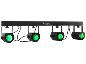 Ibiza 4Moon-Bar LED Lichteffect T-Bar 228 RGBWA DMX