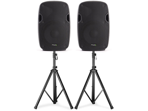 "Ibiza Sound XTK12AS actieve speaker set 12"" 2000W"