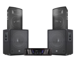 Mega Bass Carnaval Set 1700W