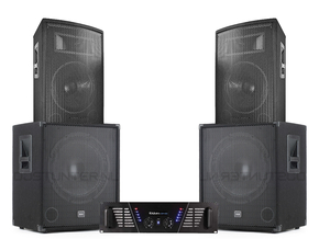 Mega Bass Carnaval Set 1800W