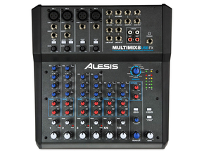 Alesis Multimix 8 USB FX studio mixer