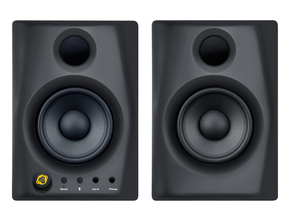Monkey Banana Gibbon AIR Zwart actieve 2.0 studio monitor set met bluetooth