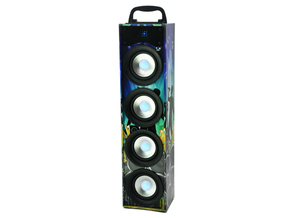 Party Light & Sound PARTY-DISCO4 actieve bluetooth speaker 40W
