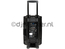 "Qtx QX12PA-plus Mobiele Bluetooth PA Luidspreker Box Accu Trolley USB/SD/FM radio 12"" 600W"