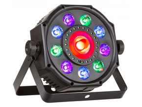 JB Systems Rave Spot 3-in-1 LED effect projector spot met afstandsbediening