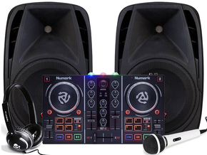 Alecto PAS-208 + Numark Party mix pack