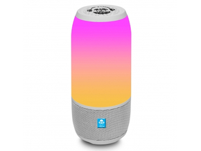 iDance Blaster BM3L White Mini 3 wit all-in-one party speaker met bluetooth