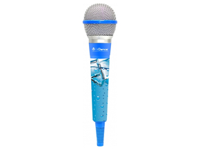 iDance CLM4 Color Mic dynamische microfoon light blue