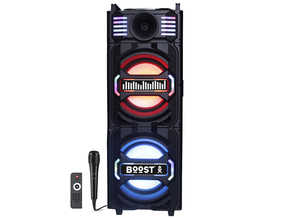 Ibiza STUPDJ10 stand up DJ  all-in-one box 1000 Watt