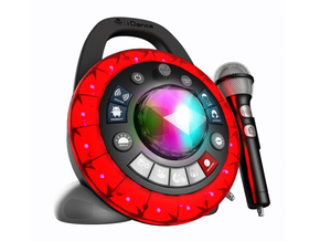 iDance Audio PB2 Roze Party Ball I am The Star 9-in-1 super party machine