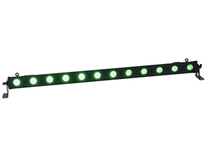 Ibiza Light LEDBAR12-RC RGBW LED bar 12x 8W DMX met afstandsbediening