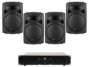 Carnaval Party Pack 4 QTX 800W