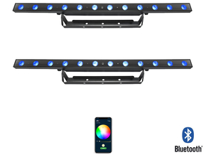 Chauvet DJ 2x 30W RGB LED BAR 3-in-1 wash effect met Bluetooth bediening