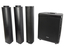 Citronic Neolith portable column speaker set 1200 Watt met accu