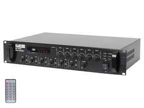 Clever Acoustics MA 240Z6 6 zone paging mixer versterker 240W