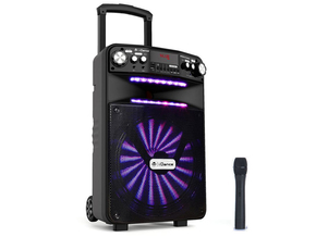 iDance Audio Groove GR508X portable bluetooth party speaker met draadloze microfoon 500W